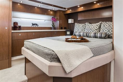 Bed Linens For Yachts Cruisers Yachts 48 Cantius The Beam Master Is The