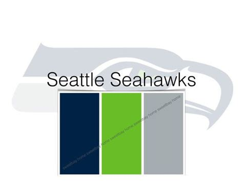 seahawks color sherwin williams paint palette color card seattle