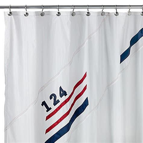 sail shower curtain set sail fabric shower curtain bed bath beyond