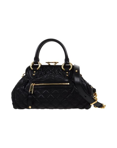 Marc Handbag by Lyst Marc Handbag In Black