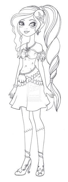 ever after high coloring pages poppy o hair 15 dessins de coloriage ever after high holly o hair 224
