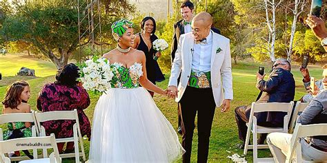 south african couple gets home makeover the africa channel wedding dress lovely zambian traditional wedding dresses