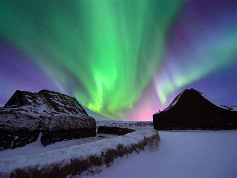 best month for northern lights iceland northern lights aurora borealis as seen from iceland