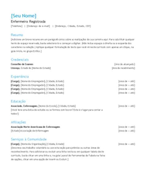 modelo curriculo tecnico de enfermagem curr 237 culo design funcional office templates