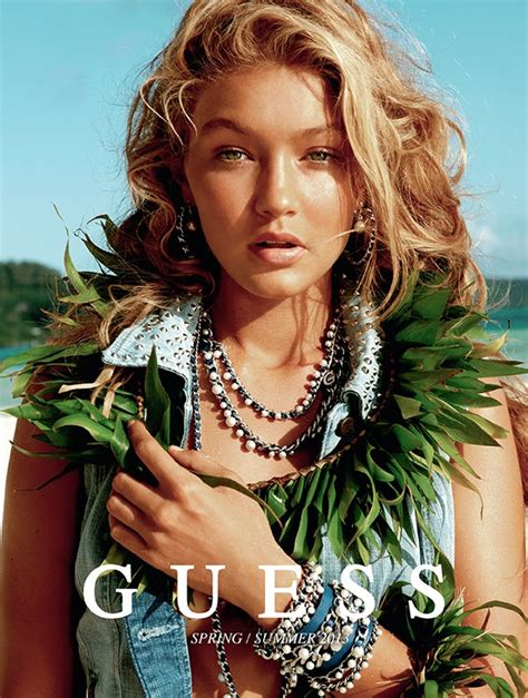 model gigi hadids guess ads are here and theyre 152 best images about gigi hadid on pinterest models