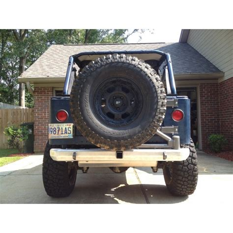 Jeep Rear Bumpers Cover Fabworks Llc Aluminum Rear Bumper For Jeep