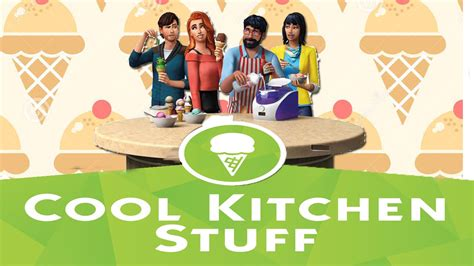 cool kitchen stuff sims4 cool kitchen stuff pack is it really cool