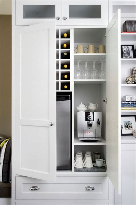 coffee cabinets for kitchen 11 genius ways to diy a coffee bar at home eatwell101