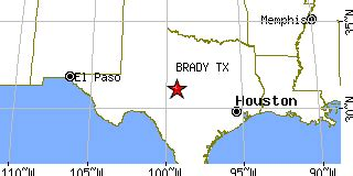 brady texas map brady texas tx population data races housing economy