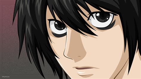 Kalung Anime Kalung Tag L Anime Note l lawliet note wallpaper 1368228 zerochan anime image board