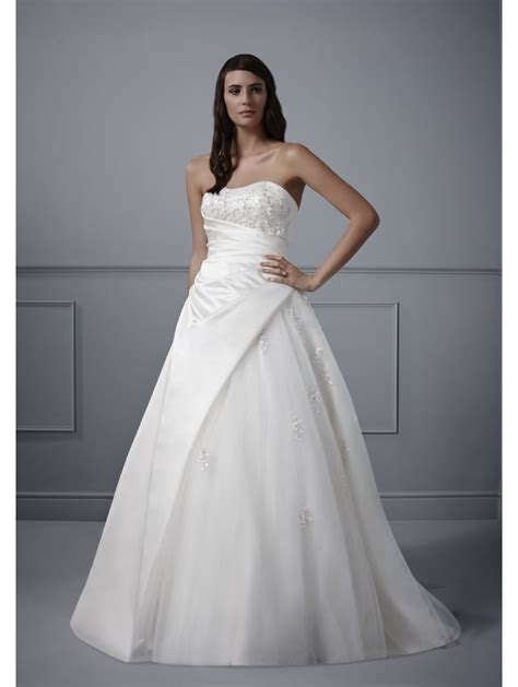 Ivory Wedding Dresses by Romantica Meredith Classic Ivory Wedding Dress Shows