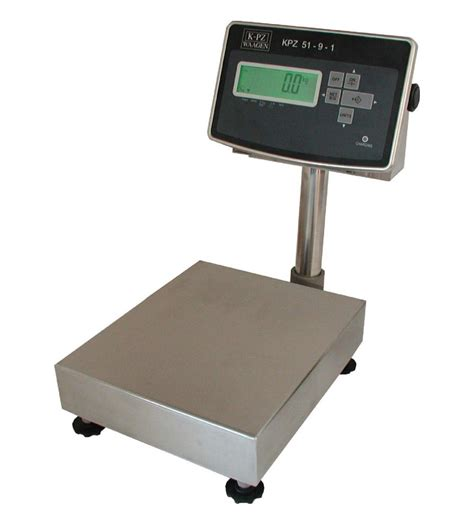 Kpz 2e 06 N Bench Scale 187 Kpz Industrial Scales