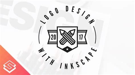 logo tutorial for beginners inkscape for beginners logo design tutorial youtube