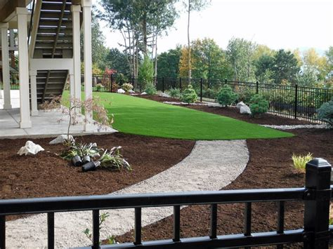 how to landscape a backyard artificial grass portland oregon putting greens