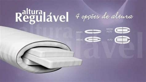 almohadas nasa travesseiro altura regul 225 vel duoflex