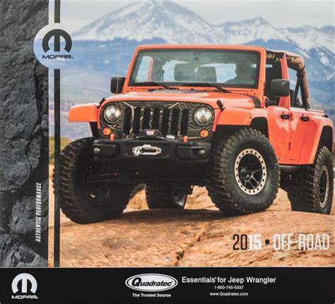 jeep calendar 2015trail 2015 quadratec jeep 174 calendar by mopar