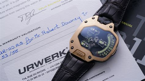 iron hearted robb report robert downey jr s iron man urwerk to be auctioned at