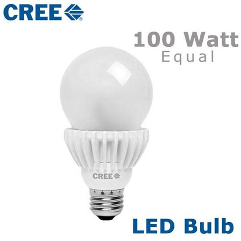 Led Light Bulbs 100 Watt Cree Led A21 Light Bulb 100 Watt Equal Ba21 16027omf Ba21 16050omf Earthled