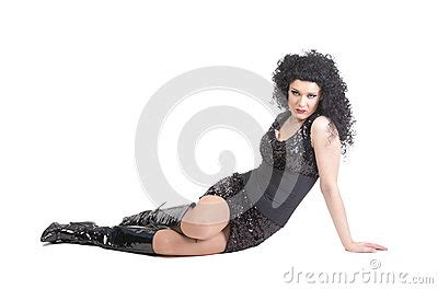 dragging but on floor portrait of drag lying on floor stock images image 27725504