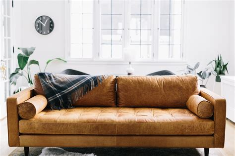 modern tan leather sofa leather sofa review review of the best leather sofas that