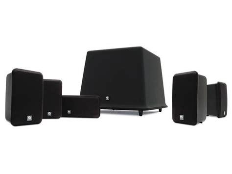 boston acoustics mcs   ch black speaker system