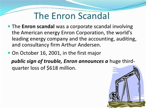 Collapse Of Enron Essay by Enron Essay