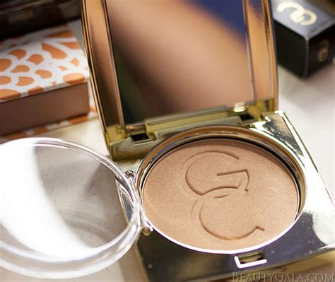 Gerard Cosmetics Powder Highlighter Marilyn bronzed and glowing makeup gerard cosmetics kimchi