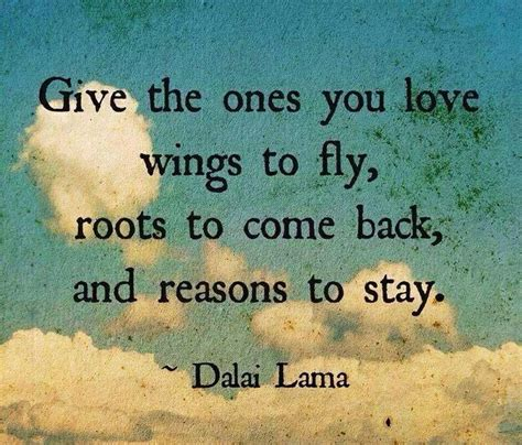 learning to fly if you allow your spirit to soar your mind and might just follow books dalai lama quotes roots and wings a lesson on parenting