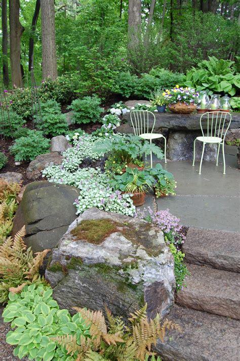 Rock Garden Steps Rock Gardens Cording Landscape Design