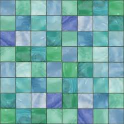 blue green glass tile background seamless background or