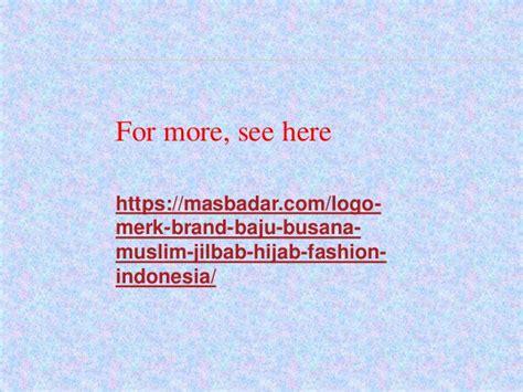 Baju Merk Keke 19 logo logo dan busana muslim indonesia free
