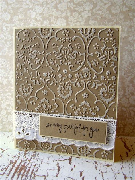 Embossed Birthday Card Ideas 25 Best Ideas About Embossed Cards On Pinterest