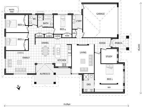 The Mareeba Home Designs In New South Wales G J Gj Gardner Homes House Plans