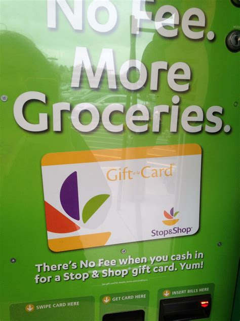Stop And Shop Gift Card Kiosk - coinstar will start offering no fee stop shop gift cards nofeecoinstar cbias the