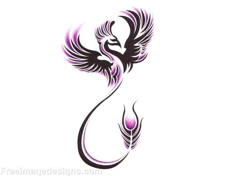 fire phoenix tattoo designs bird image design free image