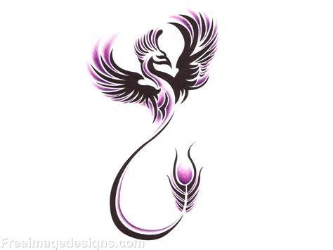 fire phoenix tattoo designs bird image design free image