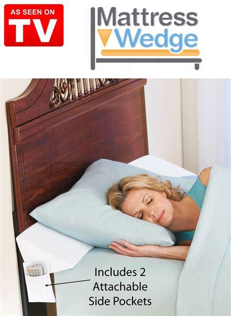 keep pillows from falling through the gap between your mattress and headboard or wall mattress