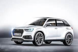 The q1 will be the first audi to have real design input from new