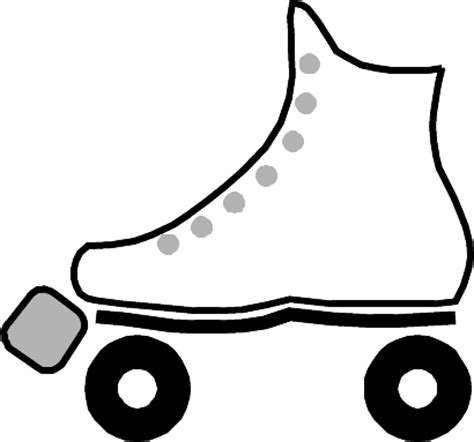 roller skate coloring page free printable coloring pages for sitting
