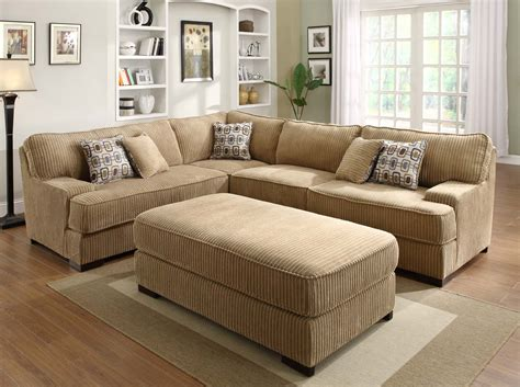 Brown Sectional Sofas Homelegance Minnis Sectional Sofa Set Brown U9759 Sect
