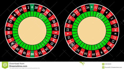 roulette layout vector american and european roulette wheel stock vector image