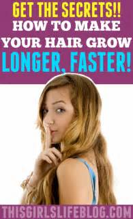 home remedies to make your hair grow faster long hairstyles