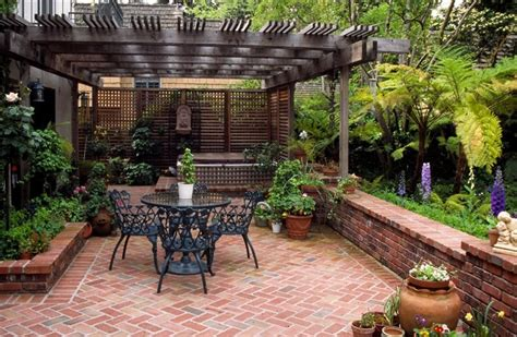 small patio backyard landscape types families empty nesters and