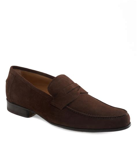 brothers suede loafers brothers lightweight suede loafers in brown