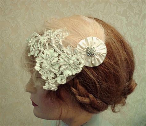beaded flapper headpiece 1920 s wedding headpiece flapper style feather