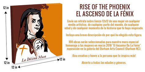 libro a sor juana anthology visual artists call the rise of the phoenix el ascenso de la f 233 nix i am quixote