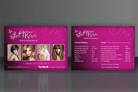 Mobile Hair Dressers by Mobile Hairdressing Flyer Sab Graphics
