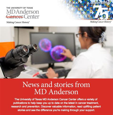 md anderson help desk online donations support cancer research treatment md