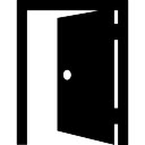 aprire porta apertura della porta aperta scaricare icone gratis