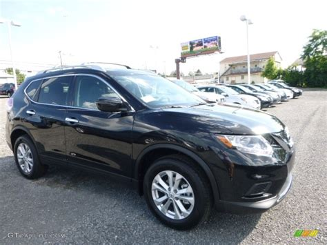 nissan black 2016 2016 magnetic black nissan rogue sv awd 113860070 photo